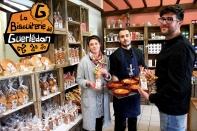 Equipe de la Biscuiterie de Guerlédan à Mûr de Bretagne